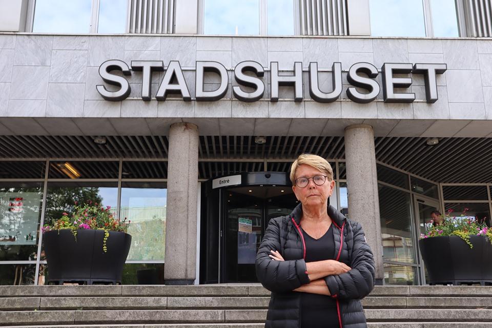 Ewa Bertz (L), Kommunalråd för demokrati och mänskliga rättigheter, Ordförande i Forum för demokrati och mänskliga rättigheter